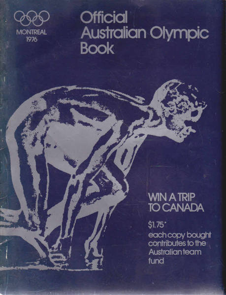 Montreal  1976 Official Australian Olympic Book