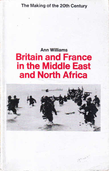 Britain and France in the Middle East and North Africa