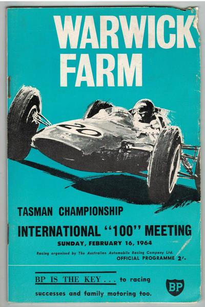 Warwick Farm Feb. 9 Tasman Championship International Meeting 1969