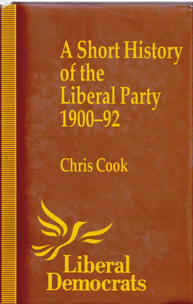 A Short History of the Liberal Party, 1900-92