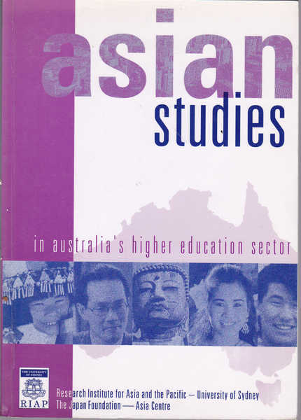 Asian Studies in Australia's Higher Education Sector